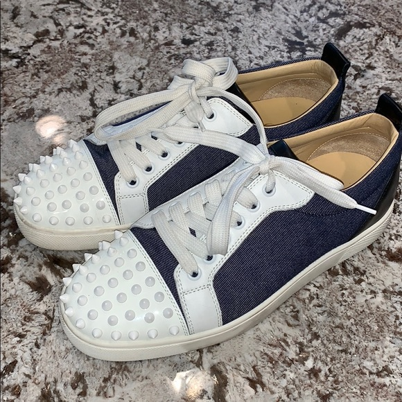 e22de1f9322 Christian Louboutin Shoes - Christian Louboutin Louis Junior Sneakers w  Spikes